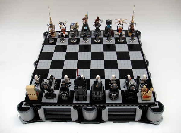 Cortinas De Baño Frikis:LEGO Star Wars Chess Set