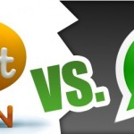 WhatsApp Vs ChatON