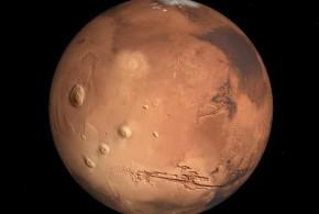 Pudo haber existido vida en Marte