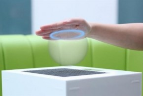 Hologramas que se pueden tocar