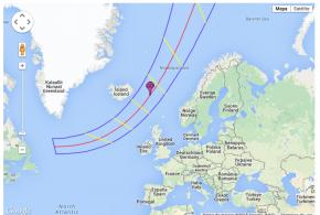 Mapa interactivo de Google para seguir el eclipse solar de este viernes